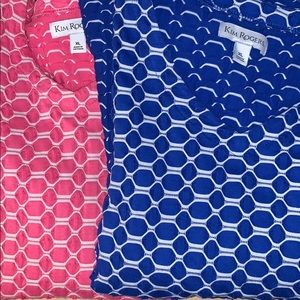 Two blouses from Kim Rodgers